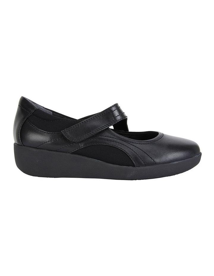 Bronwyn Black Glove Flat Shoe image 1
