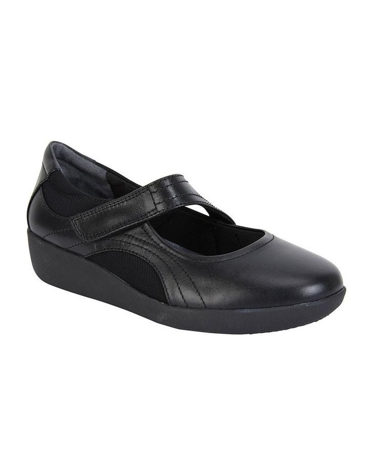 Bronwyn Black Glove Flat Shoe image 2