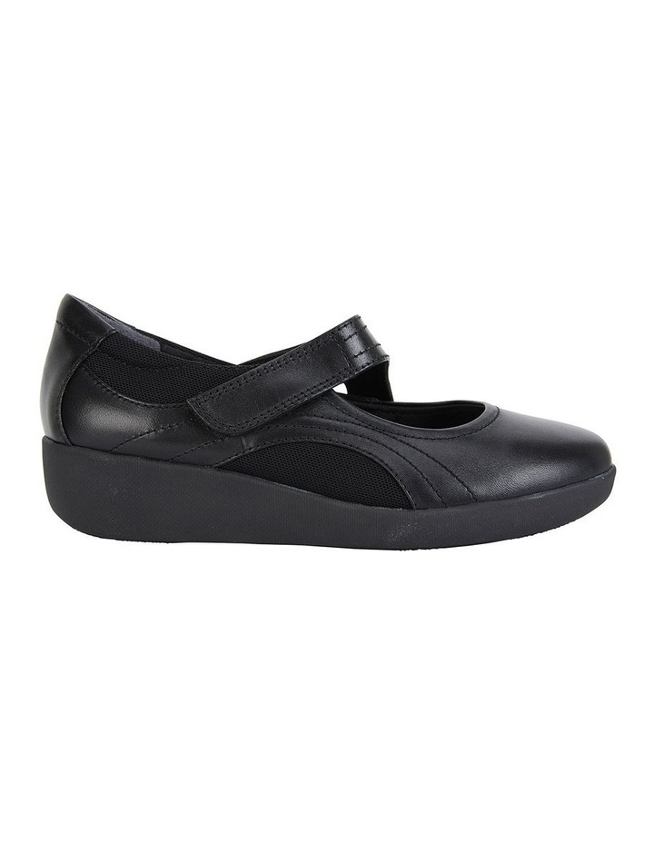 Bronwyn Black Glove Flat Shoe image 3