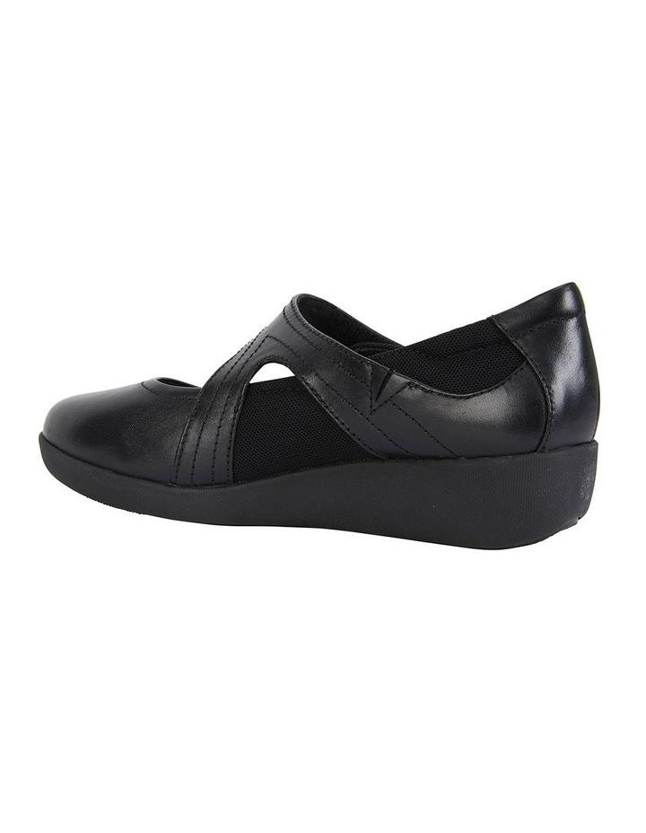Bronwyn Black Glove Flat Shoe image 4