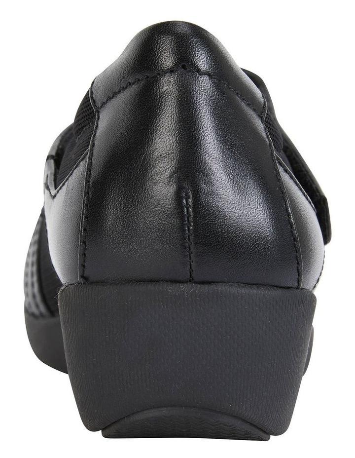 Bronwyn Black Glove Flat Shoe image 5