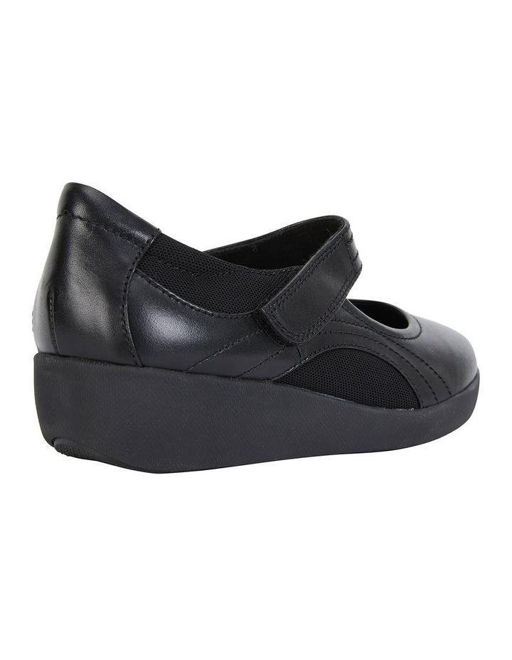 Bronwyn Black Glove Flat Shoe image 6
