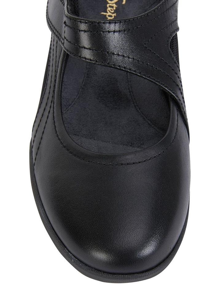 Bronwyn Black Glove Flat Shoe image 7