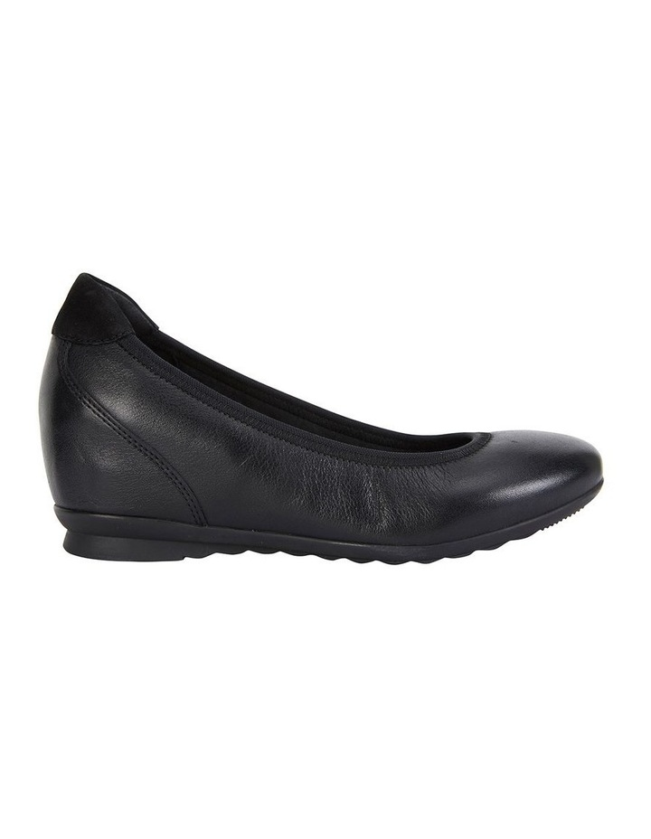 Norah Black Glove Heeled Shoe image 1