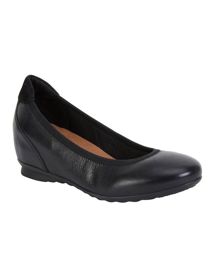 Norah Black Glove Heeled Shoe image 2