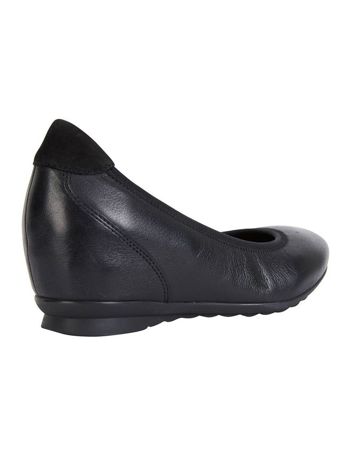 Norah Black Glove Heeled Shoe image 3