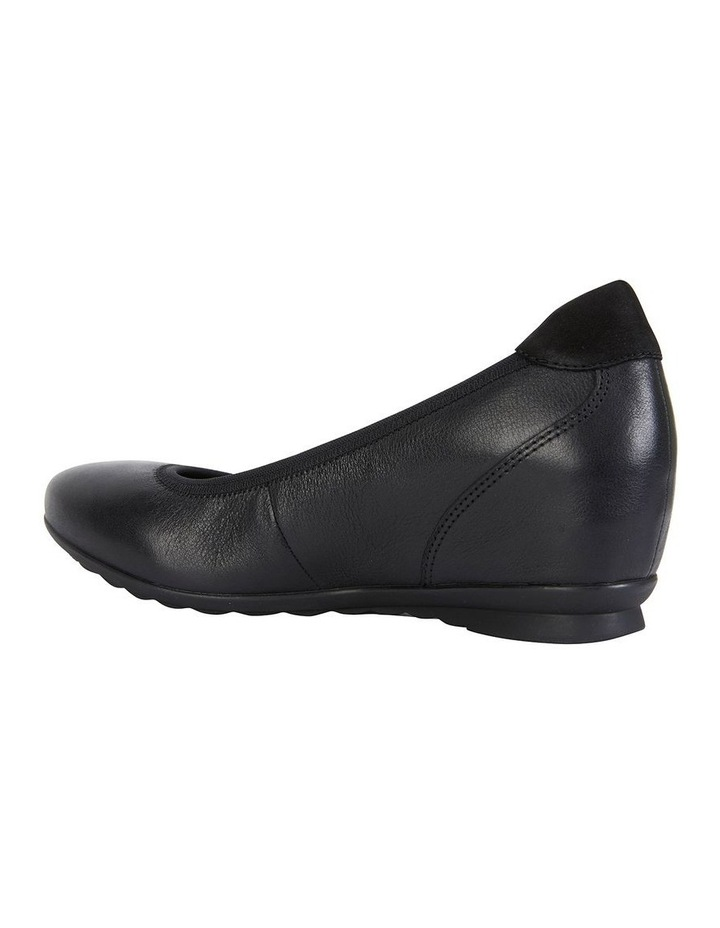 Norah Black Glove Heeled Shoe image 4