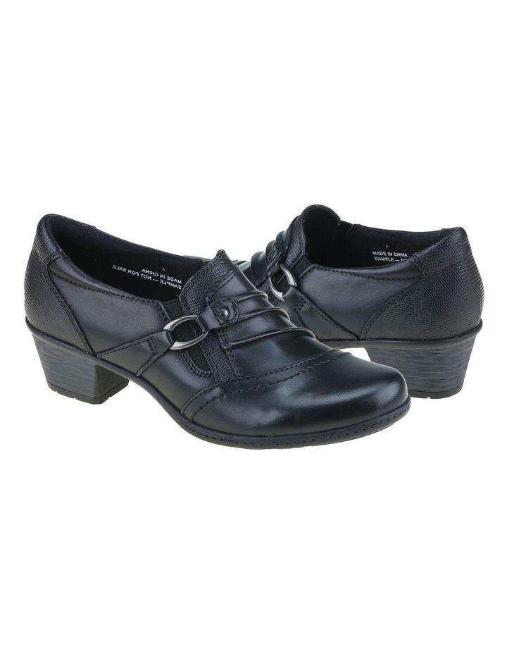 Taplow Black Heeled Shoes image 2