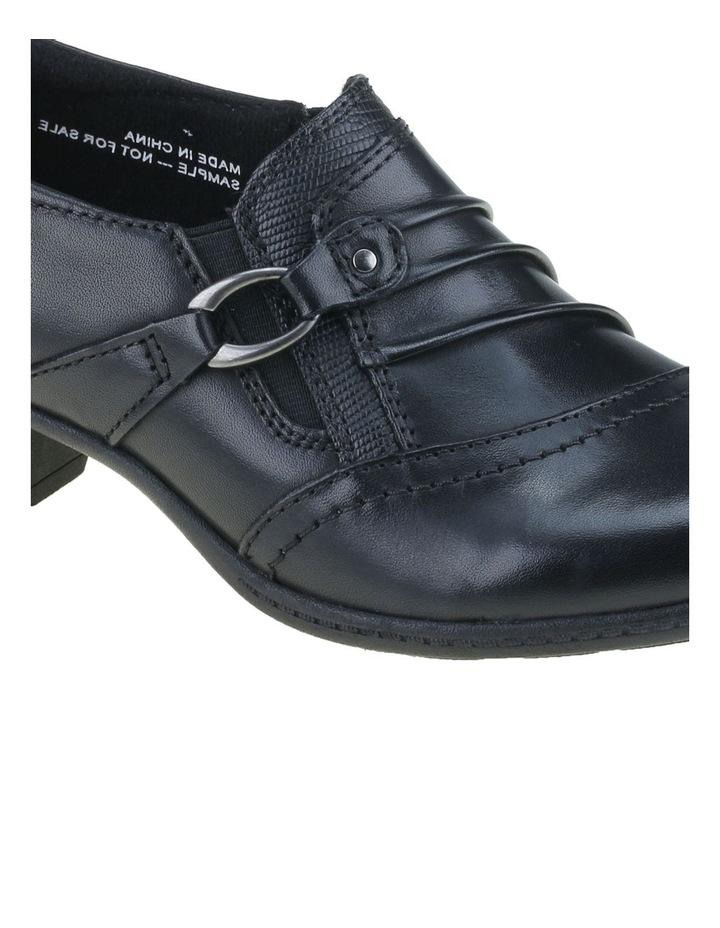 Taplow Black Heeled Shoes image 4