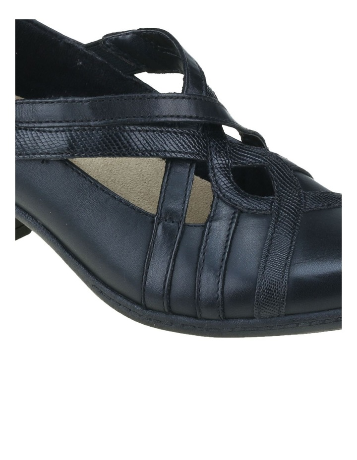 Tower Black Heeled Shoes image 4