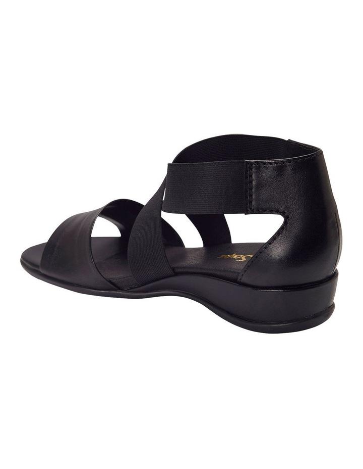 Charity Black Glove Sandal image 6