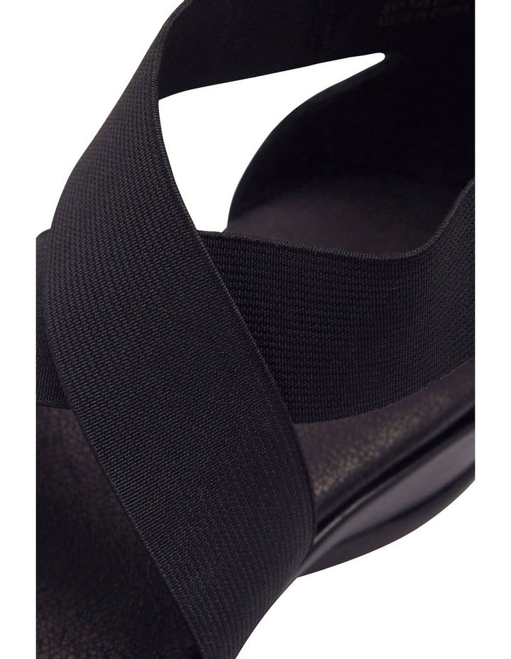 Charity Black Glove Sandal image 9