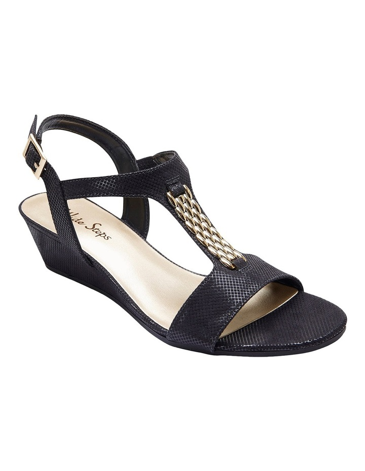 Nolan Black Fabric Sandal image 2