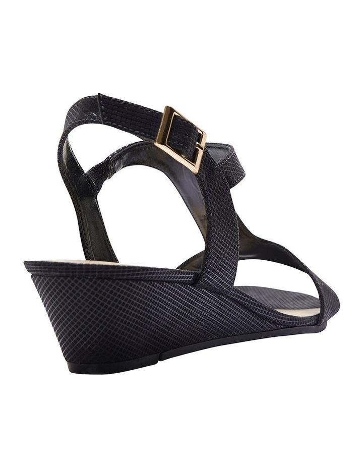 Nolan Black Fabric Sandal image 3