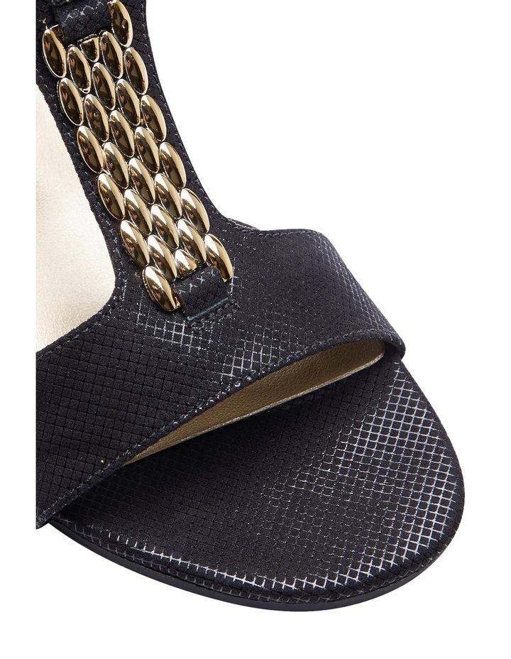 Nolan Black Fabric Sandal image 4