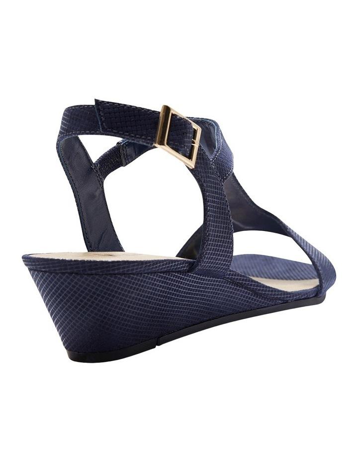 Nolan Navy Fabric Sandal image 3