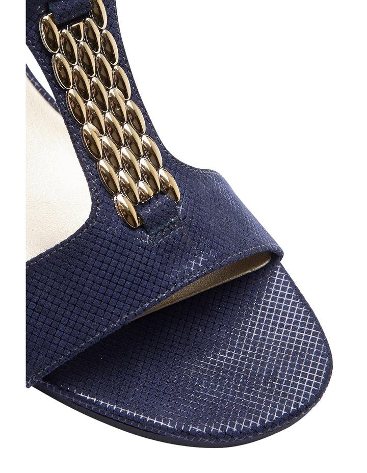 Nolan Navy Fabric Sandal image 4