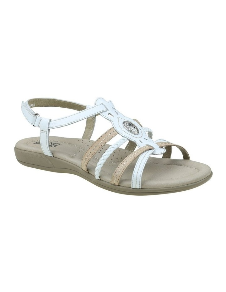 Violet White Sandal image 3