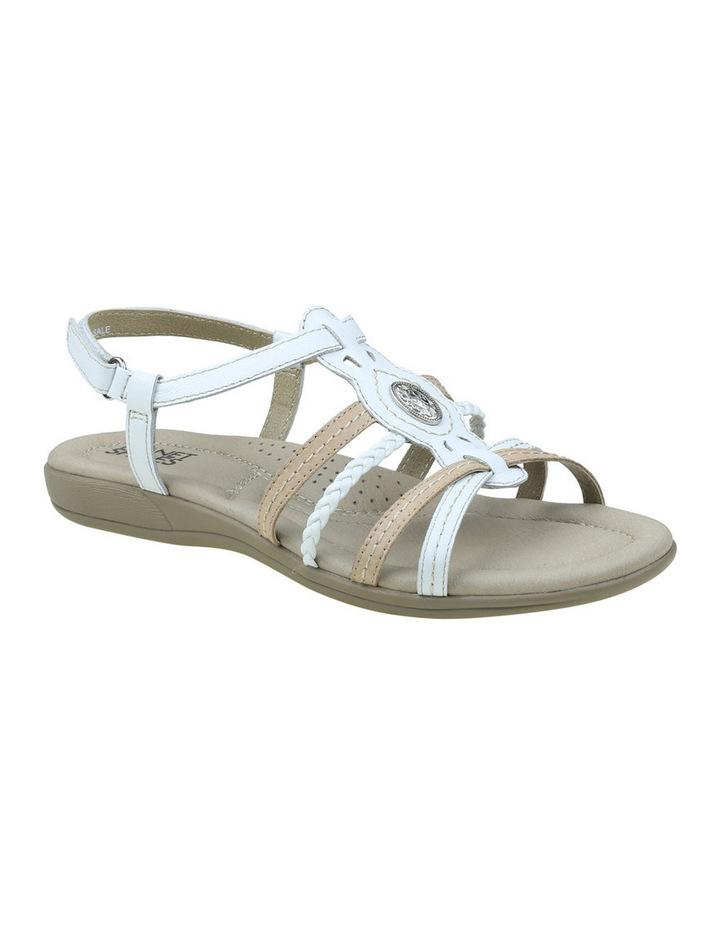 Violet White Sandal image 4
