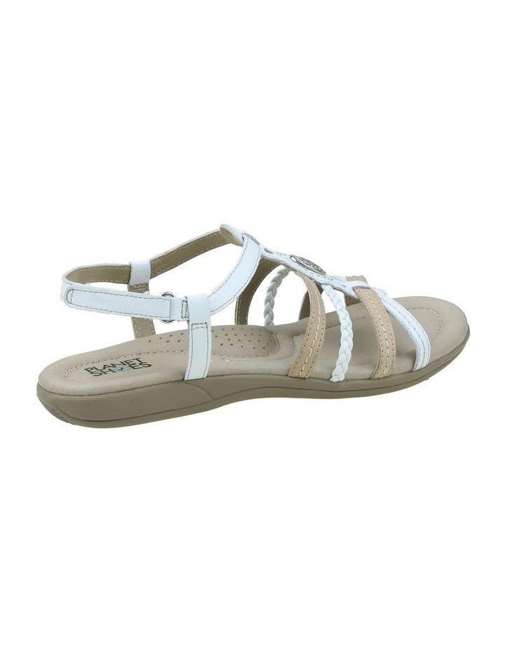 Violet White Sandal image 5