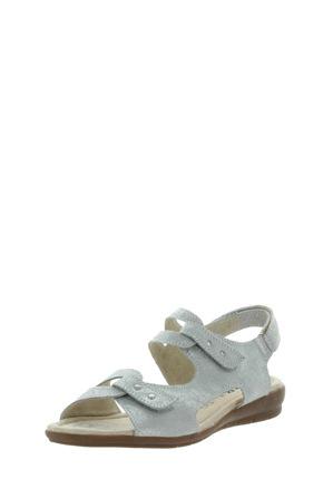 Just Bee - Camash Silver Print Sandal