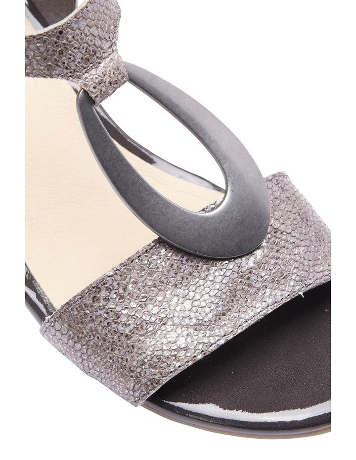 Eileen Metallic Print Sandal image 4