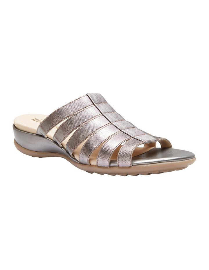 Canal Pewter Elastic/Metallic Sandal image 2