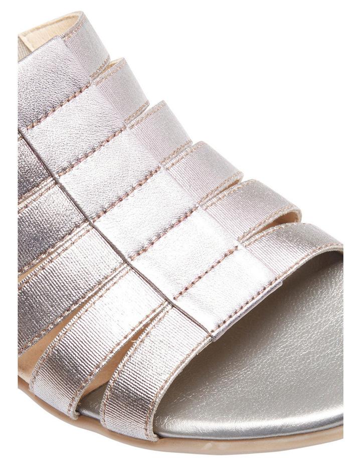 Canal Pewter Elastic/Metallic Sandal image 4