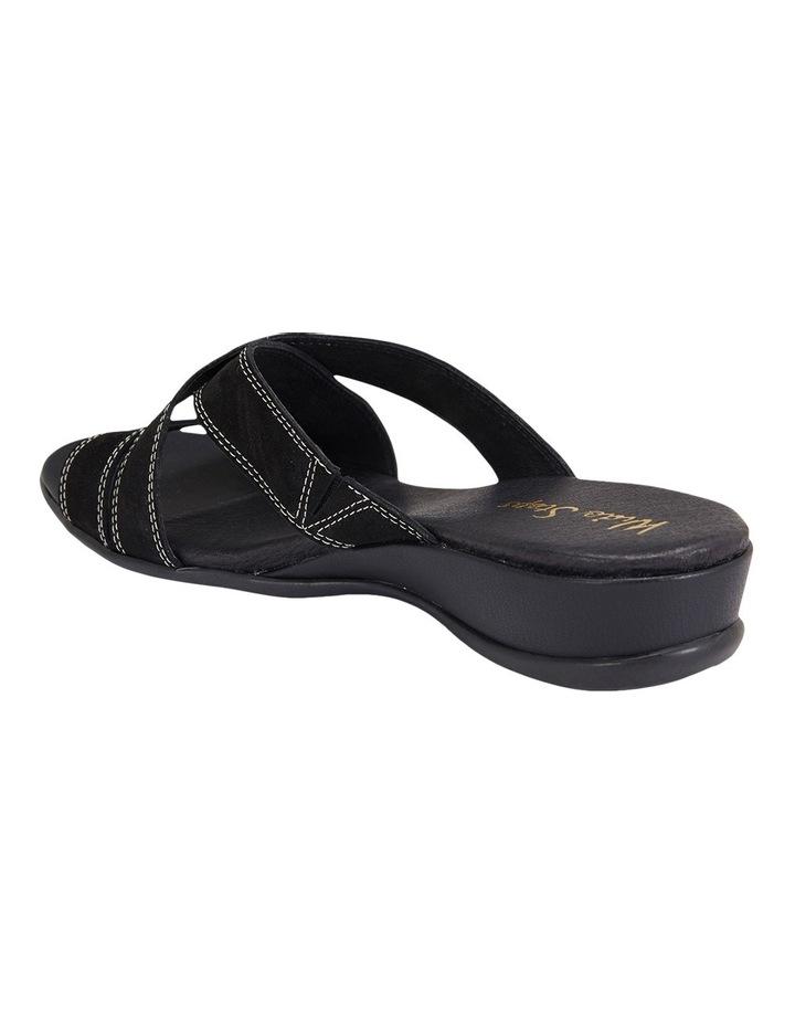 Caddy Black Nubuck Sandal image 3