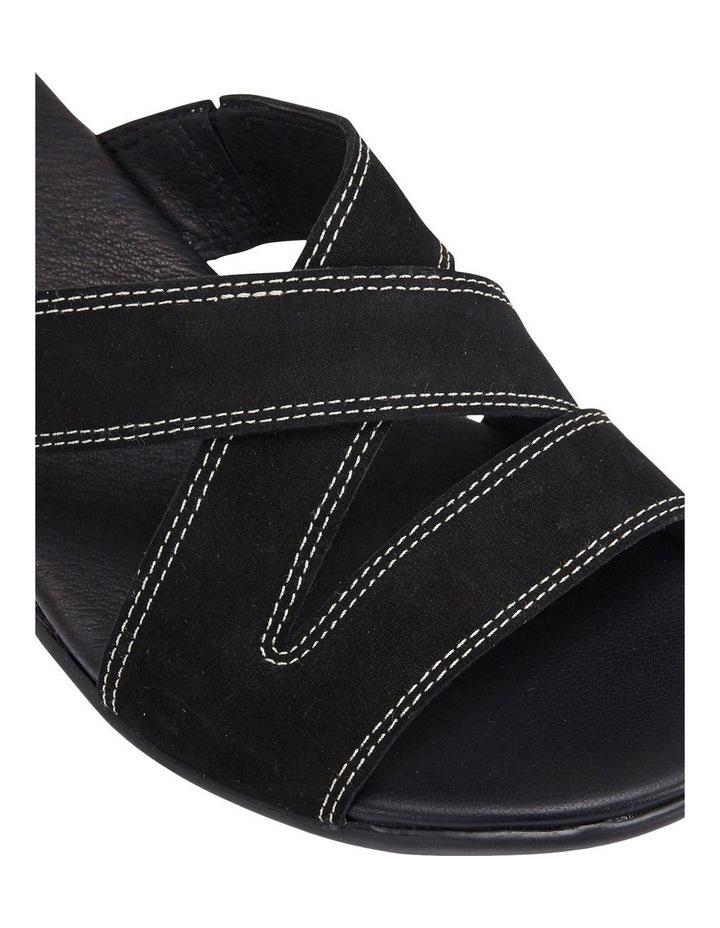 Caddy Black Nubuck Sandal image 7