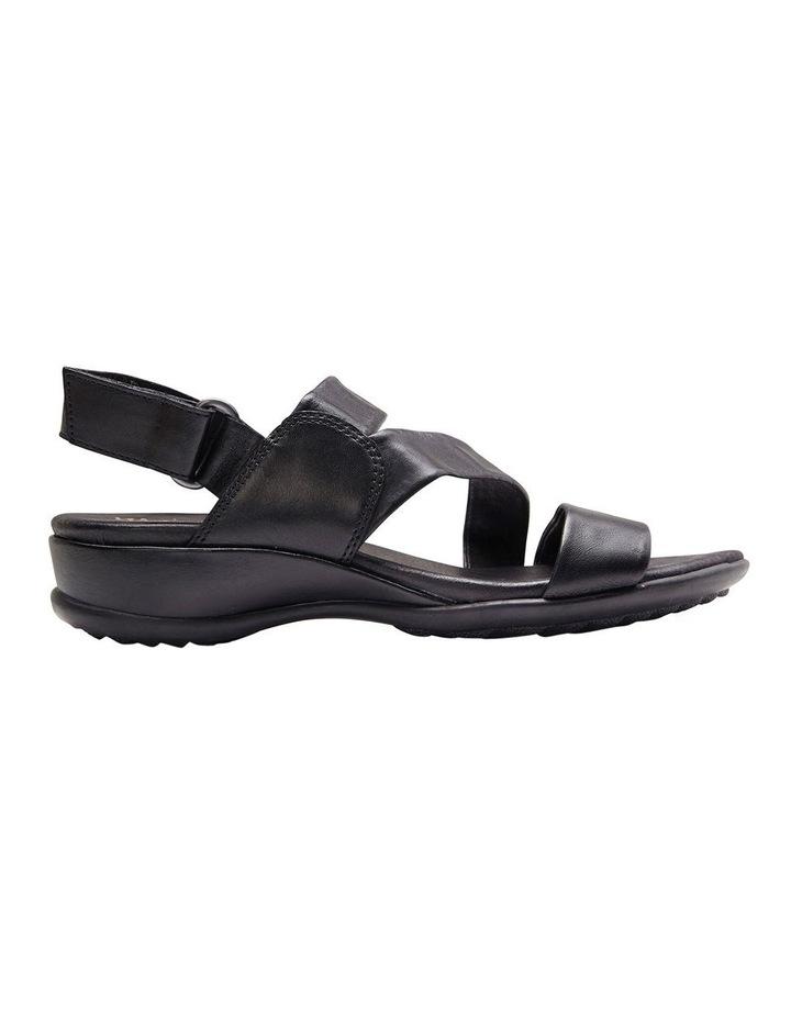 Caine Black Glove Sandal image 1