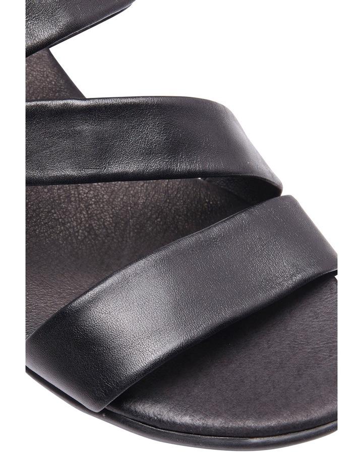 Caine Black Glove Sandal image 8