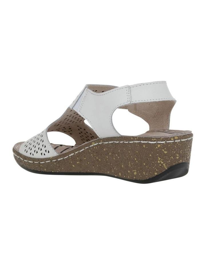 Cardinia White Sandal image 2