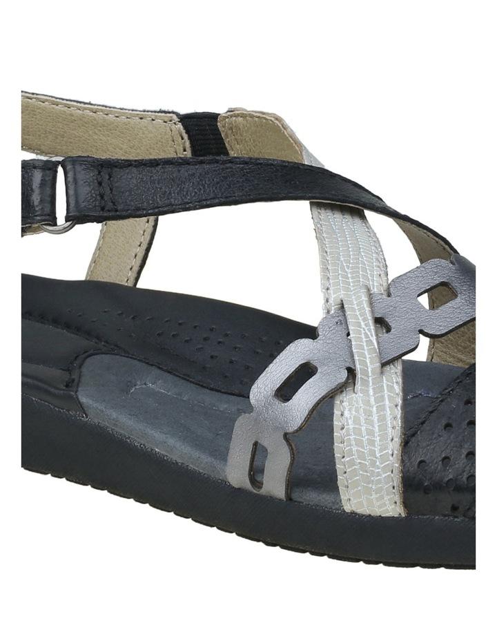 Burnt Black Sandal image 6