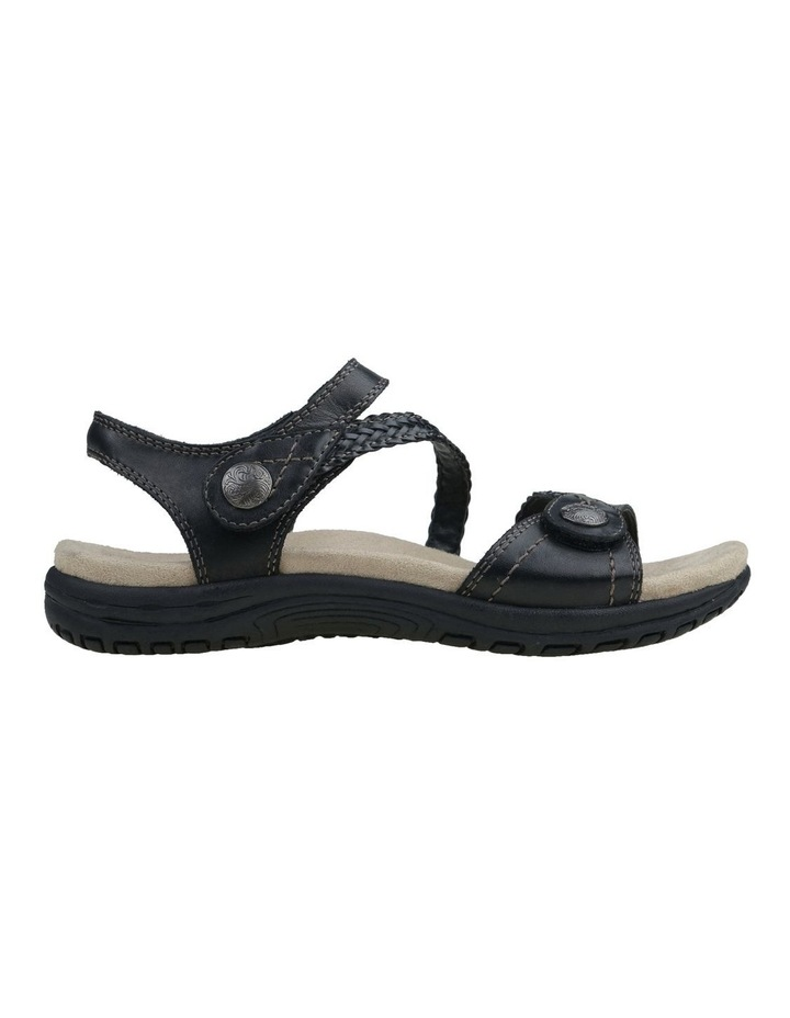 Crisp Black Sandal image 1
