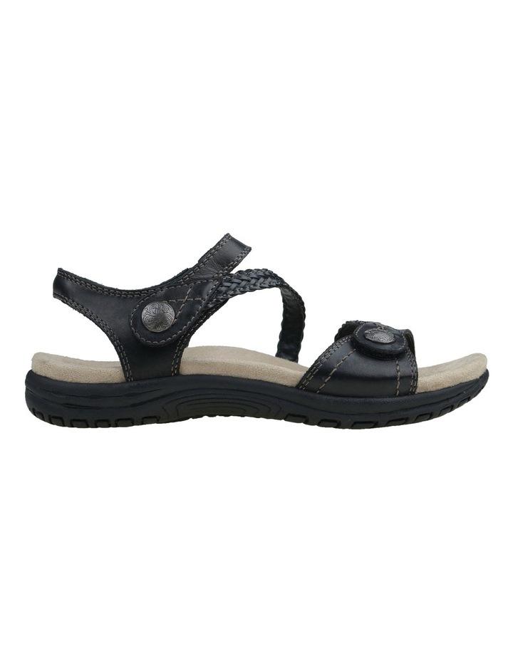 Crisp Black Sandal image 2