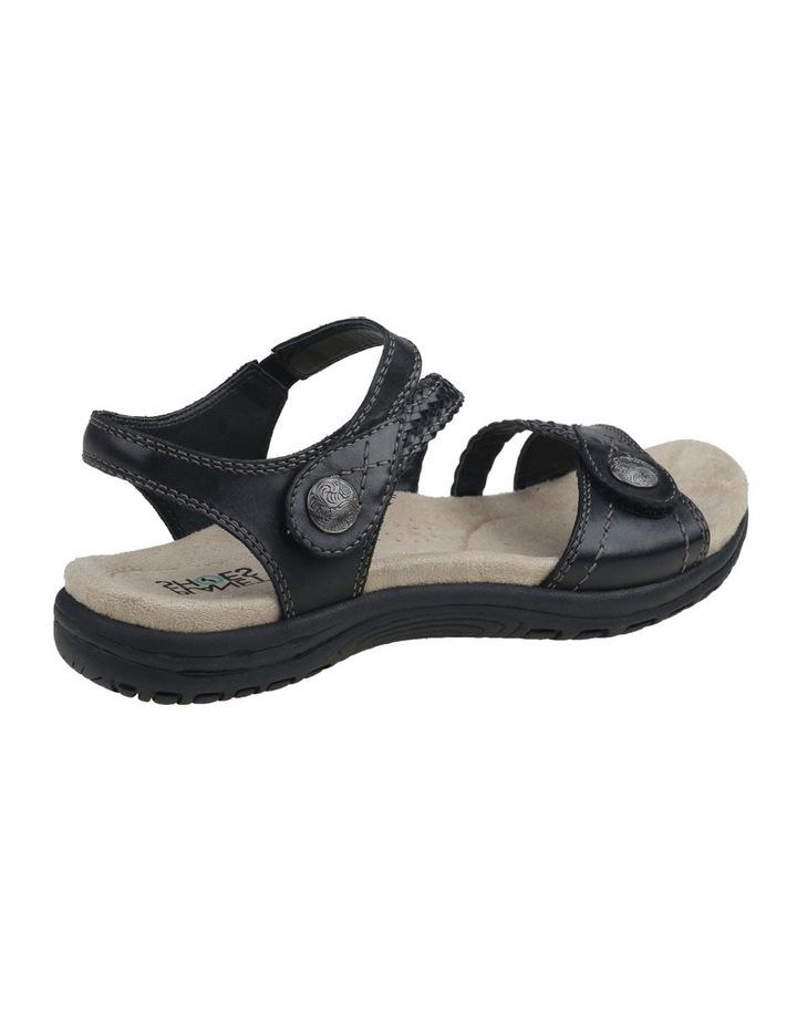 Crisp Black Sandal image 3