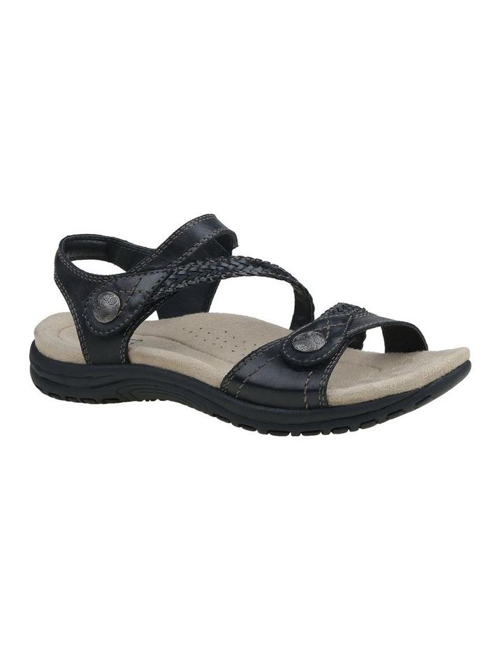 Crisp Black Sandal image 4