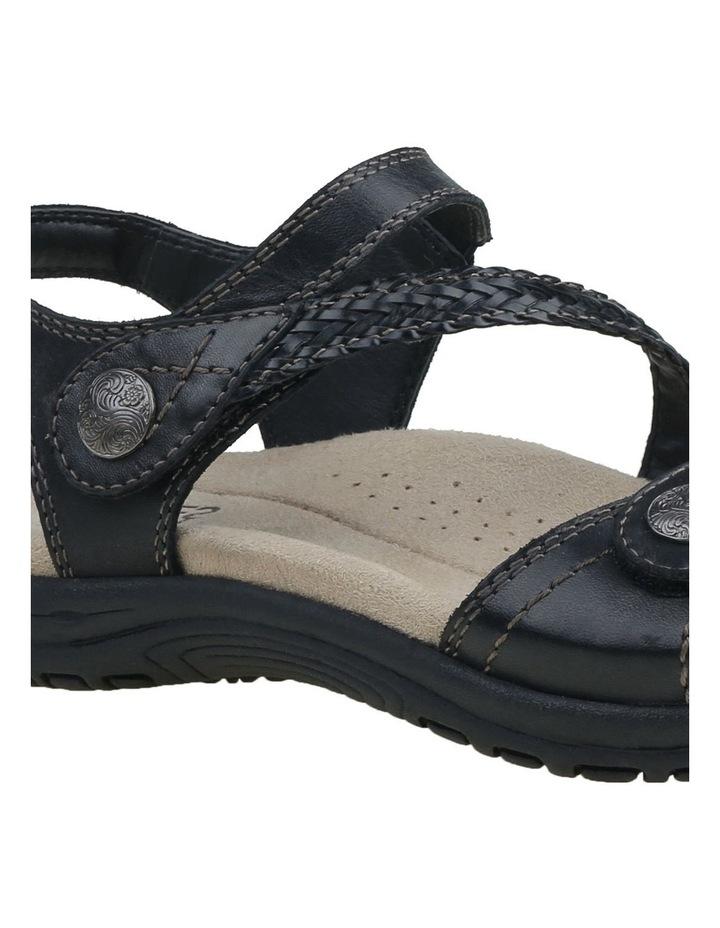 Crisp Black Sandal image 6