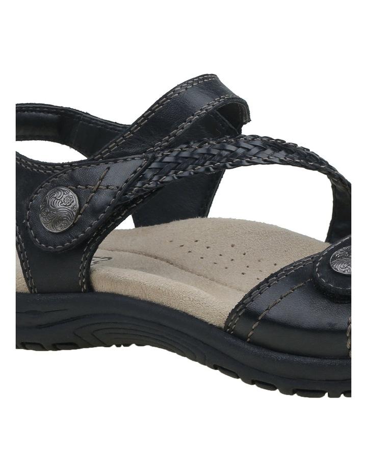 Crisp Black Sandal image 7