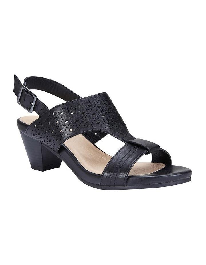 Fonda Black Glove Sandal image 2