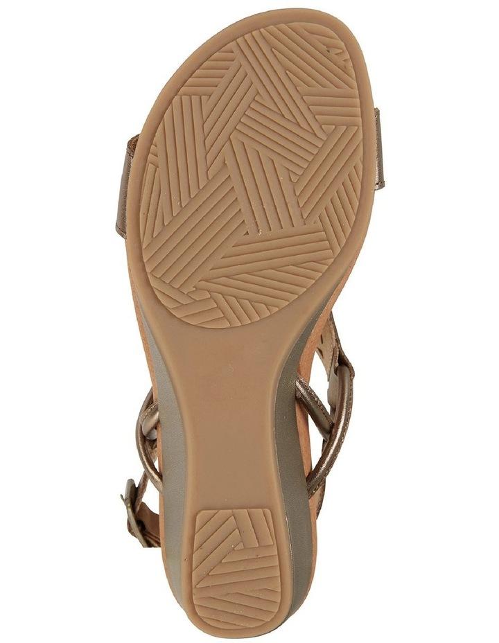 Wide Steps Magnet Pewter Metallic Sandal image 6