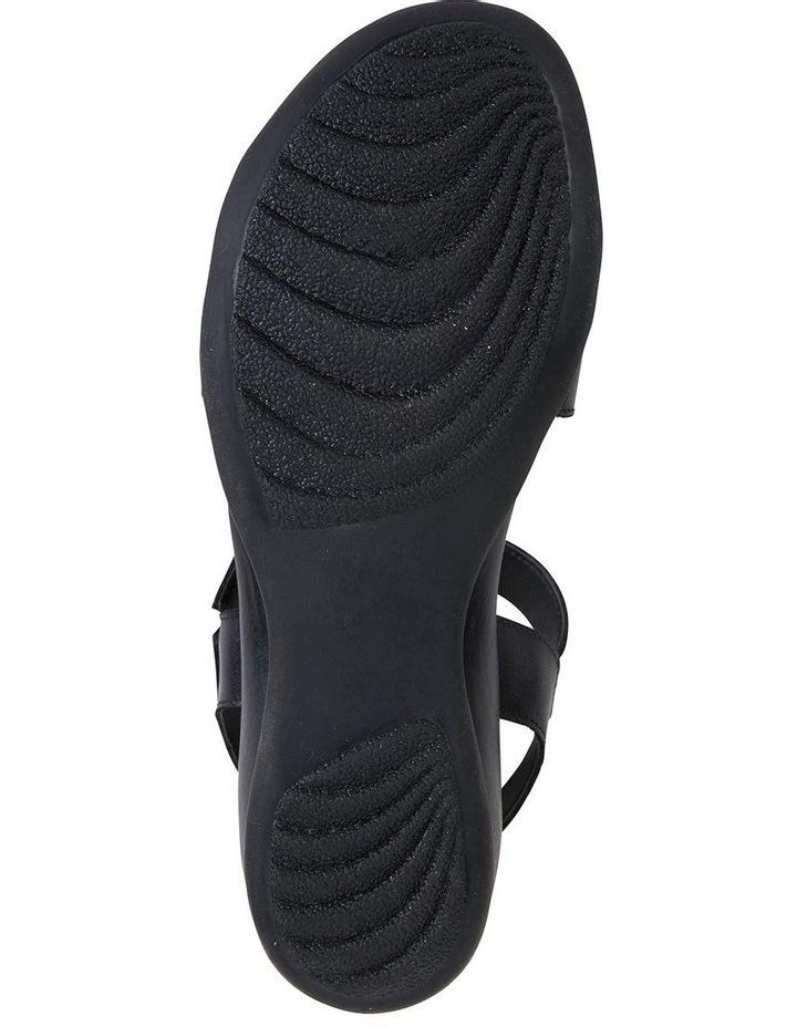 Cisco Black Glove Sandal image 5