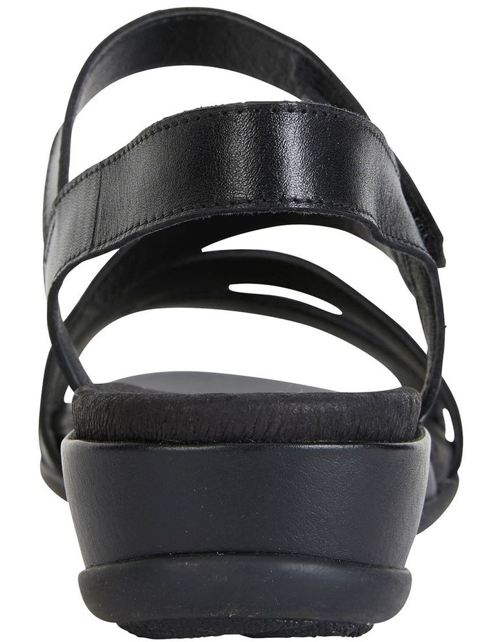 Cisco Black Glove Sandal image 6