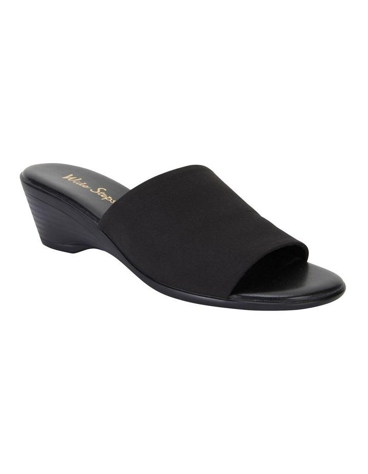 Orient Black Fabric Sandal image 2