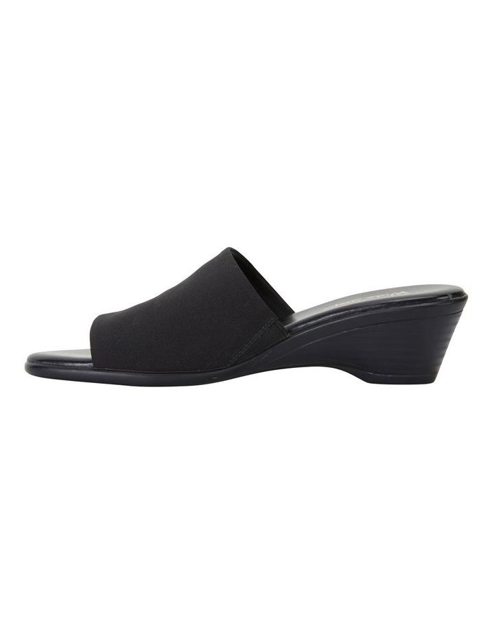 Orient Black Fabric Sandal image 3