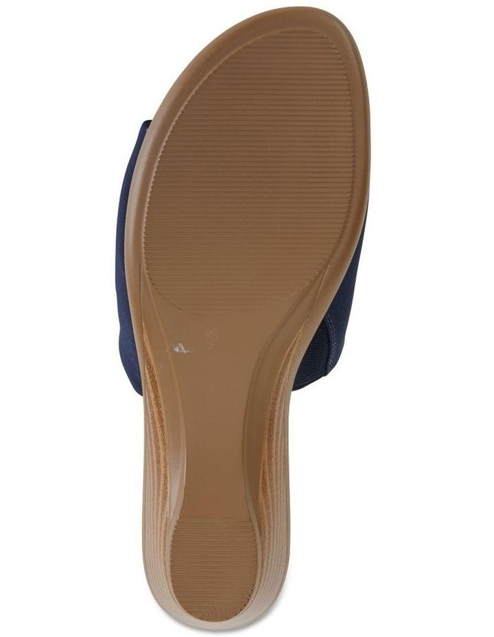 Orient Navy Fabric Sandal image 6