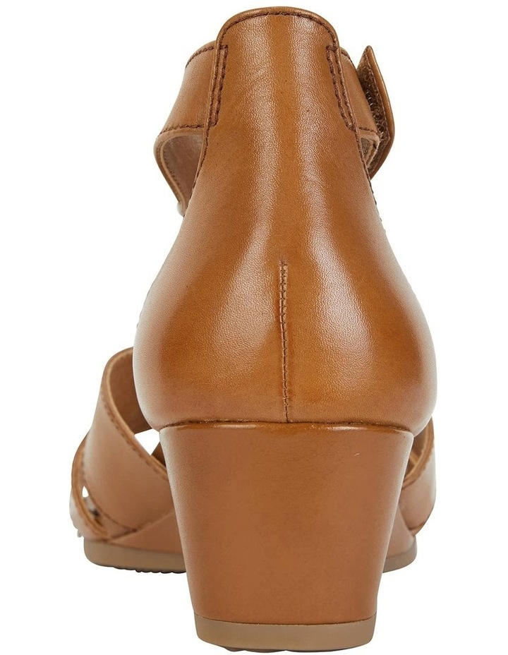 Martha Cognac Glove Sandal image 7