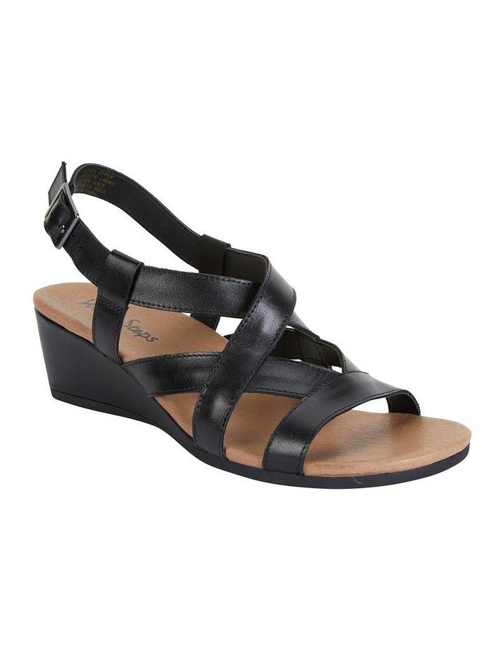 Miriam Black Glove Sandal image 2
