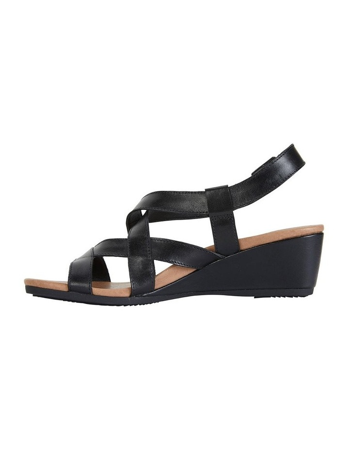Miriam Black Glove Sandal image 3